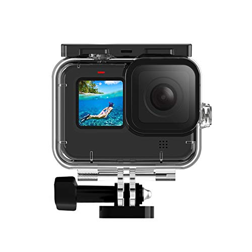 FINEST+ Waterproof Housing Case for GoPro Hero 9 Black Diving Protective Housing Shell with Bracket Accessories for Go Pro Hero9 Action Came