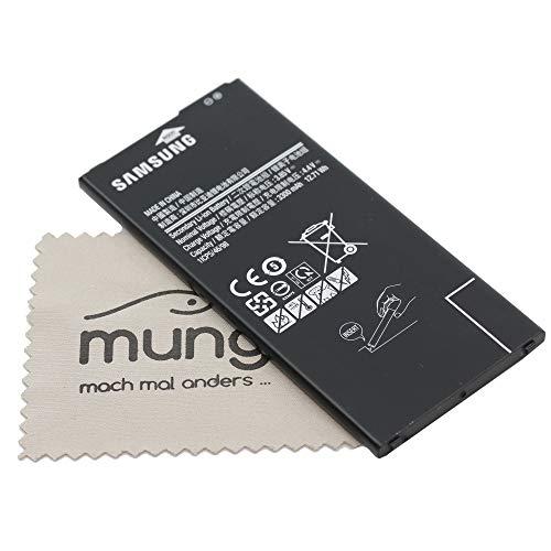 Akku für Samsung Original EB-BG610ABE für Samsung Galaxy J4 Plus (J415F) / Galaxy J6 Plus (J615F) mit mungoo Displayputztuch