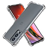 Cresee for OnePlus Nord 2 5G Case, Crystal Clear Cover
