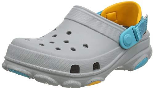 Crocs Unisex-Kinder Classic All Terrain Clog Holzschuh, Light Grey, 28 EU