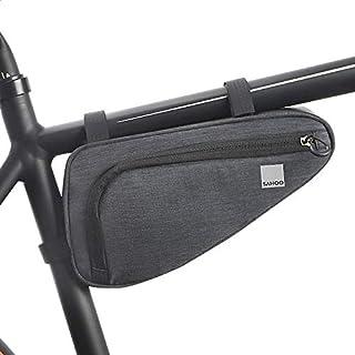 Roswheel Unisex's 121469 Bike Frame Tube Triangle Bag, Black, One size