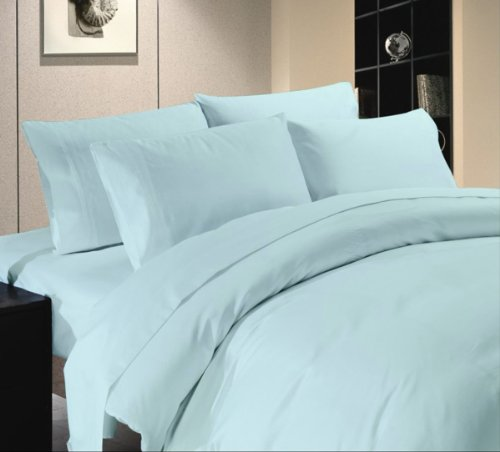 Comfort Beddings 600TC - Sábana encimera (1 unidad, 100% algodón egipcio,...
