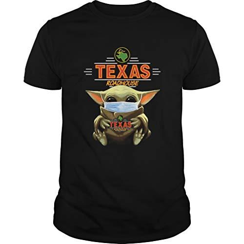 Mars Tee Baby Yoda Hug Texas Roadhouse covidd-viruss-19-2019 Shirt-As Image-Kitchen Table Decor-Best Gifts for Women