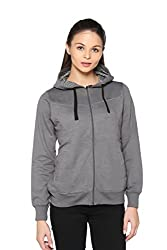 HARDIHOOD Winter wear Fleece Sweatshirt Hoddies Jackets for Women Ladies girts Sizes-L,XL,XXL