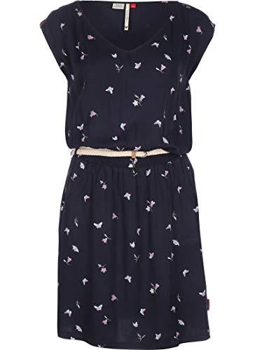 Ragwear W Carolina Blau, Damen Kleider, Größe S - Farbe Navy