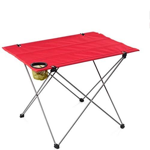 RLY Klapptisch, Outdoor Camping tragbare Eisentisch tragbare leichte Klapptisch Grill