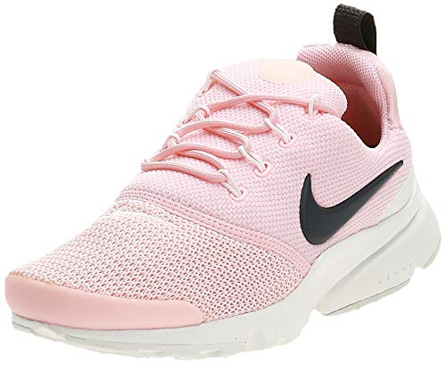 NIKE , Damen Presto Fly Gymnastics Schuhe,Mehrfarbig (Storm Pink/Anthracite-Summit White 607), 36.5 EU (3.5 UK)