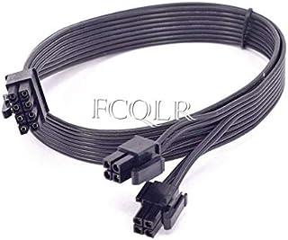 FCQLR CPU 8pin to 4+4Pin Power Supply Flat Cable P8 to P4 para Corsair AX860i AX760i