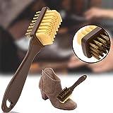 Piore 2Sided Brush Brush Eraser Set de Goma Apto para Gamuza Nubuck Shoes Steel Plastic Rubber Boot Cleaner