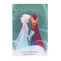 ディズニー アナと雪の女王 アナと エルサ 300ピース ジグソーパズル (38x26cm)