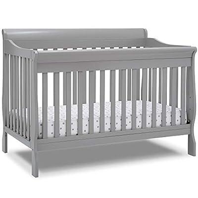 Delta Children Canton Deluxe 6-in-1 Convertible Crib, Grey from AmazonUs/DEMQX