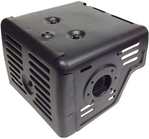 Wai Danie Tubo de escape silencioso Compatible con GX340 GX390 GX420 11HP 13HP 389 cc 420 cc 4 tiempos bomba de agua de motor de gasolina 18310-ZE2-W61
