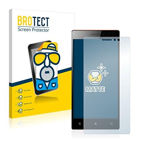 BROTECT 2X Entspiegelungs-Schutzfolie kompatibel mit Lenovo Vibe X2 Bildschirmschutz-Folie Matt, Anti-Reflex, Anti-Fingerprint