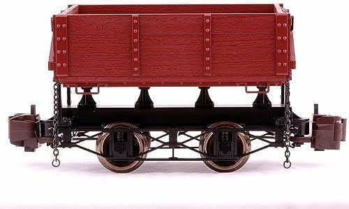 1 20.3 Wood Side Dump Car, braun by Bachmann Industries