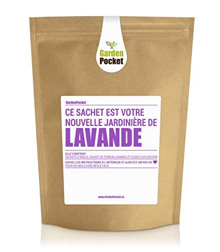Garden Pocket - Kit de culture d'herbes aromatiques LAVANDE - Sac de pot de fleur