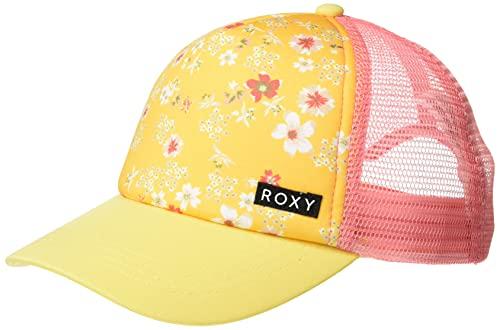 Roxy Mädchen Honey Coconut Trucker Hat Hut, Bananeneimer, Cremefarben, Einheitsgröße