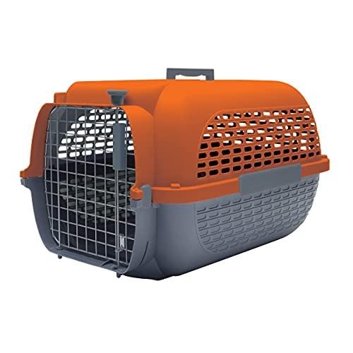 Dogit Catit Sac de Transport pour Animaux de Compagnie 100 Petits 48 x 32 x 28 cm Gris et Orange