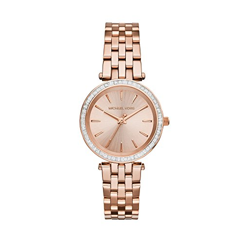 Michael Kors Women's Mini Darci Watch Quartz Mineral Crystal MK3366