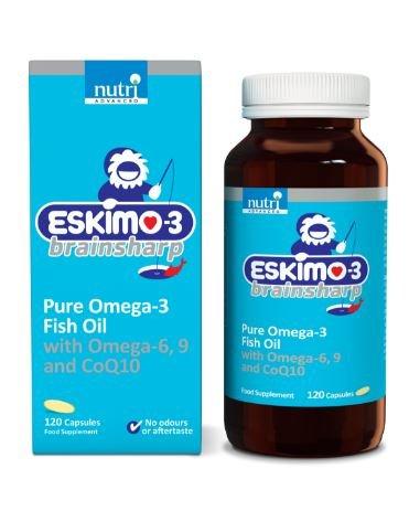 Eskimo-3 Brainsharp 120 Caps