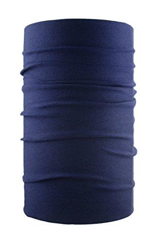 HeadLOOP Multifunktionstuch Schal Halstuch Kopftuch Microfaser (Dunkelblau)