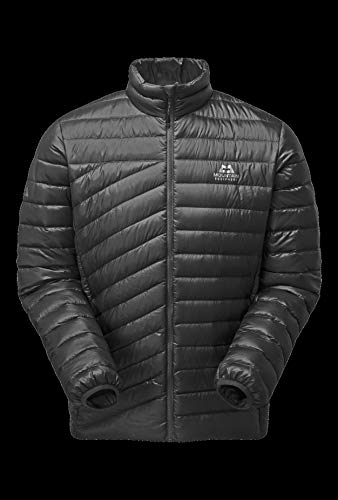 Mountain Equipment Herren Earthrise Daunenjacke (schwarz)