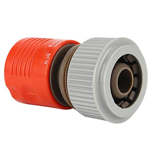 """Sollmey Watering Equipment-3PCS Garden Irrigation 3/4"""" PVC Water Hose Pipe Tap Adapter Connector Fitting"""