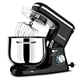 HOWORK Stand Mixer, 8.45 QT Bowl 660W Food Mixer, Multi Functional Kitchen Electric Mixer With Dough Hook,...
