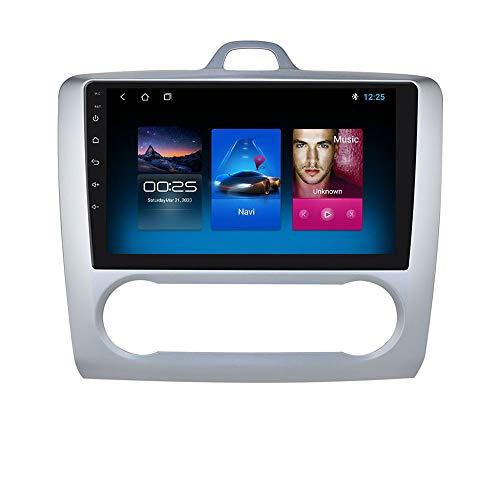Navegación de Coche Android 10 Compatible con Bluetooth WiFi Mirror Link Apto para Focus Exi AT 2004 2005 2006 2007 2008 2009 2010 2011
