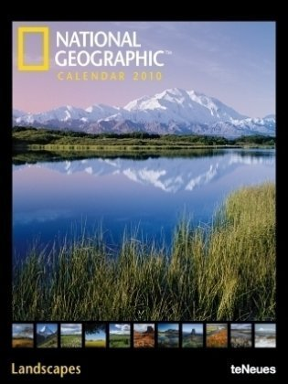 National Geographic Calendar 2010. Landscapes. Posterkalender