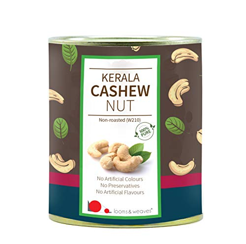 Looms & Weaves Premium Quality Cashew Nuts From Kerala - 250 Gm