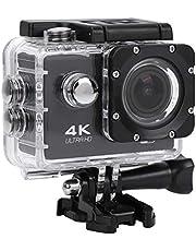 BIKING Waterdichte Camera,Actie Camera Waterdichte Mini Outdoor Sport Camera 1080P 4K DV Actie Camera Video Recorder WiFi Afstandsbediening