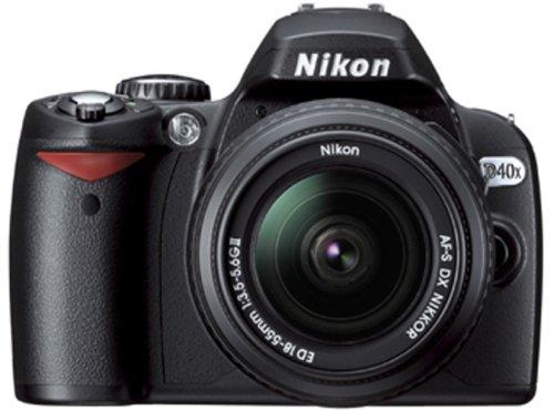 Nikon D40X - Cámara Réflex Digital 10.2 MP (Objetivo DX 18-55 mm)
