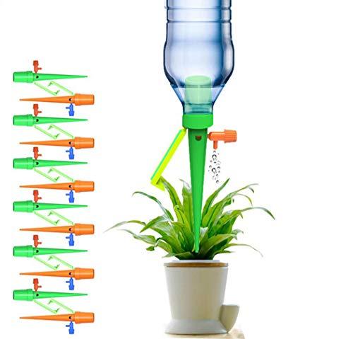 STN Irrigazione Goccia Automatica, Giardino Gocciolante Gocciolatore Cono DIY Piante, Fiori, Bonsai, Dispositivo Irrigatore Domestica, Automatica e Scientifica per Piante da Interni ed Esterni