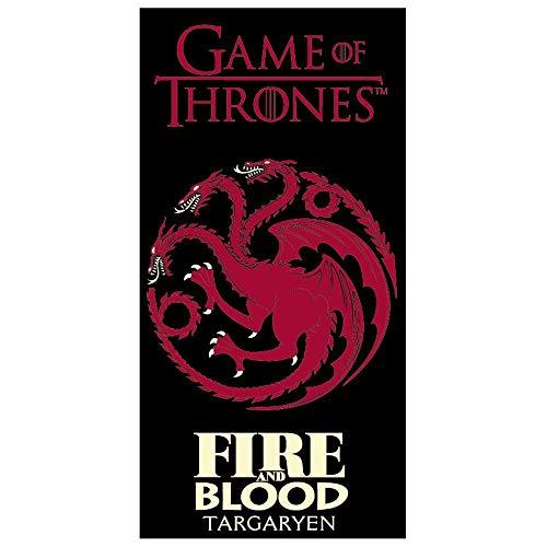 Juego de Tronos Toalla Targaryen