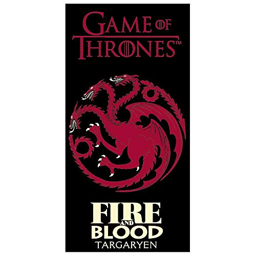 XCO Game of Thrones Duschtuch Strandtuch 70x140 cm GOT821-480A-R