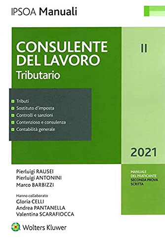 Consulente Del Lavoro Ii Tributario: Vol. 2