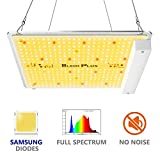 LED Grow Light Bloom Plus BP-1000 Grow Lights for Indoor Plants Veg and Flower, Full Spectrum Growing Lamps with Samsung 2835 Diodes for 2x2 ft Grow Tent Hydroponics Indoor Gardening (336 LEDs)
