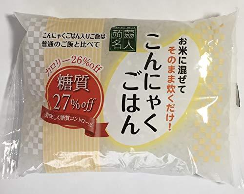 つぶこん こんにゃく米 こんにゃくごはん1袋200g×20袋 生こんにゃく粒