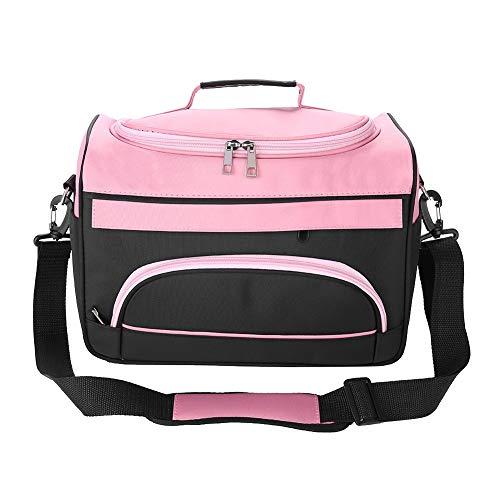 Borsa da viaggio di grande capacità professionale per parrucchiere (Color : Rose Pink)