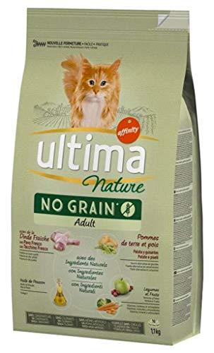 Ultima Nature Croquettes Chat No Grain Adult Dinde 11kg Lot De 3