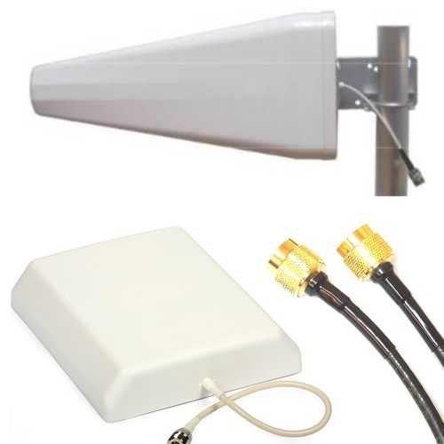 Danitech Repeater für GSM GPRS UMTS LTE passiv incl. 2X Antennen