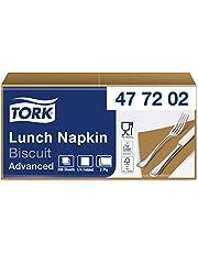 Tork Lunch/Servilletas para almuerzo / 10 paquetes x 200 unidades (2000 servilletas) / 2 capas / 32 x 32 cm, surtido de colores