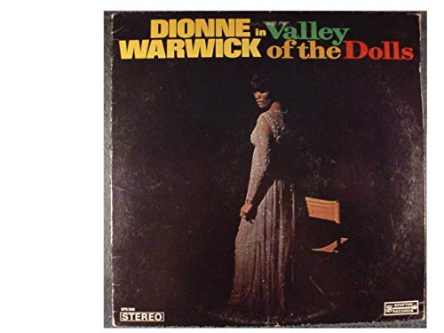 Dionne Warwick In The Valley Of The Dolls 1968 USA vinyl LP SPS568
