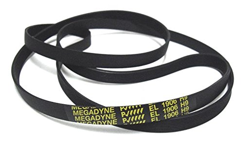 Megadyne - Courroie de sèche-linge EL 1906 H9