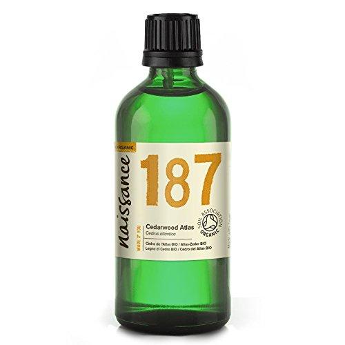 Naissance Zedernholzöl, Atlas (Nr. 187) 100ml BIO zertifiziert 100% naturreines ätherisches Öl