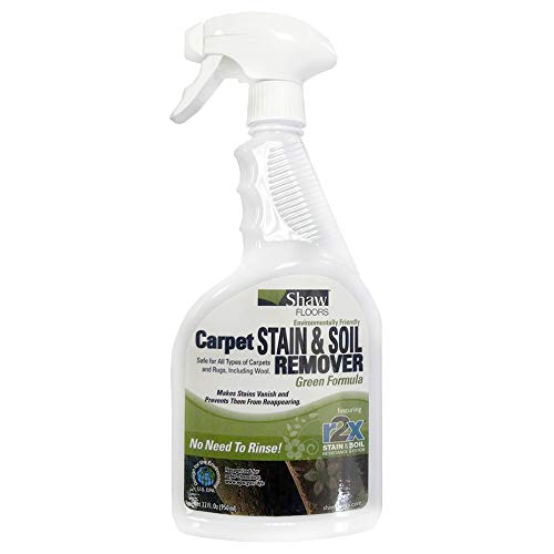 Shaw R2X GREEN Carpet Stain & Soil Remover 32oz Spray