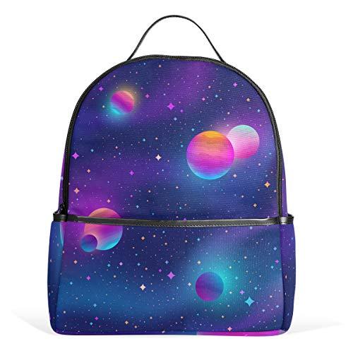 Mr.XZY Space Planet Mochila para niño para niña 2011543
