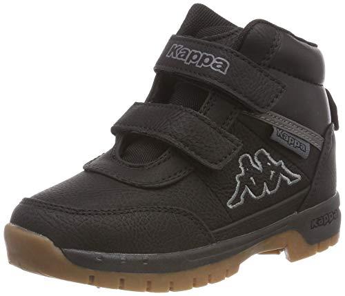 Kappa BRIGHT Unisex-Kinder Hohe Sneakers, Schwarz (Black 1111), 27 EU