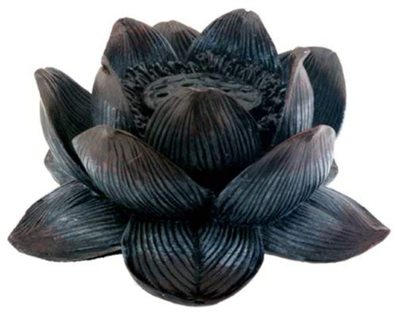 Summit Collection Buddha Meditation Aroma Scent Lotus Incense Burner Collectible