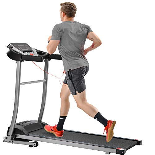 Electric Treadmill Foldable Running Jogging Fitness Machine for Home & Gym (Black 4)